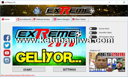 PES 2016 PES exTReme 16 Patch v1 + STSL Turkey League Single Link - Torrent Ketuban Jiwa