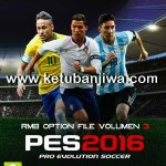PES 2016 PS3 NPUB – BLUS Option File v3 by RMB