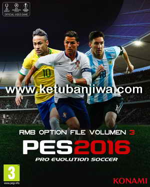 PES 2016 PS3 NPUB - BLUS Option File Volume 3 by RMB Ketuban Jiwa