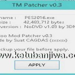 PES 2016 Tattoo Mod Patcher v0.3 Final by Sxsxsx