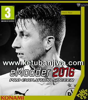 PES 2016 eModder Patch 0.3.1 Update DLC 2.0 + 1.03 Ketuban Jiwa