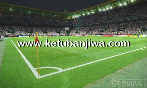 PES 2016 eModder Pitch4 v2 PS4 Grass For PC Ketuban Jiwa