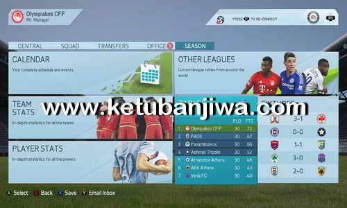 FIFA 16 ModdingWay Mod 2.5.0 + 2.6.0 Update Ketuban Jiwa
