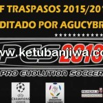 PES 2013 PS3 Option File Update Season 2015/2016