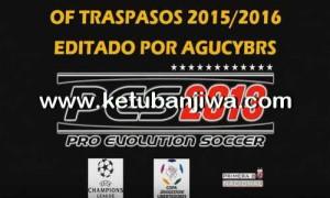 PES 2013 PS3 Option File Update Season 2015/2016