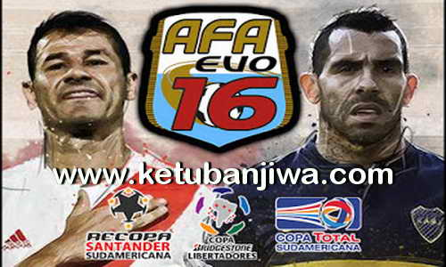 PES 2016 AFA Evo16 Patch v1.0 Update Edit 3 January 2016 Ketuban Jiwa
