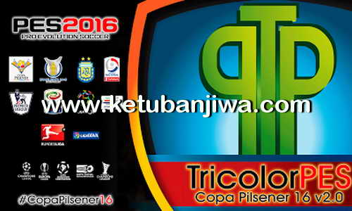 PES 2016 Copa Pilsener Patch Update v2.1 by TricolorPES Ketuban Jiwa