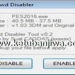 PES 2016 Crowd Disabler Tool 0.2 by Sxsxsx