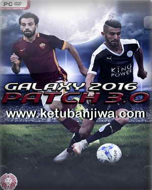 PES 2016 Galaxy Patch 3.0 by Eslam Emam Ketuban Jiwa