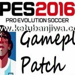PES 2016 God GamePlay Patch 1.3 + Kits by Maradona10