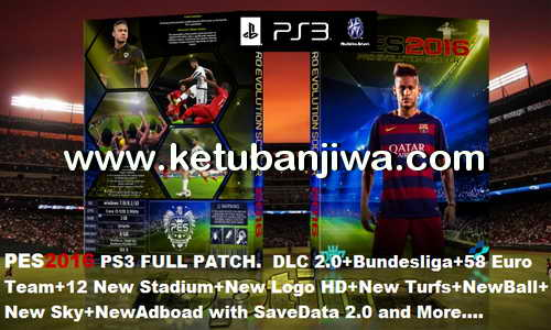 PES 2016 PS3 Full Patch by TEIBOR33 Ketuban Jiwa
