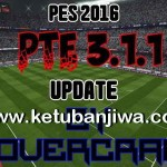PES 2016 PTE Patch Update 3.1.1 + Fix by Hovercraft