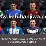 PES 2013 Option File Sun Patch 5.0 Update 03/02/2016