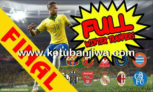 PES 2013 PESEdit 8.1 Full Winter Transfer 2015-2016 by PESMod Ketuban Jiwa