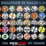 PES 2016 Ballpack 50 Balls v2.0 by cRoNoS