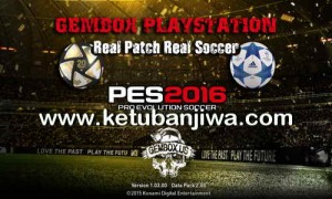 PES 2016 PS3 CFW ODE Gembox Patch Update 06/02/2016