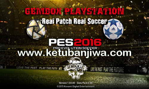 PES 2016 PS3 CFW+ODE BLES-BLUS Gembox Patch Update 06 February 2016 Ketuban Jiwa