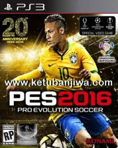 PES 2016 PS3 Patch 1.05 / 1.03.01