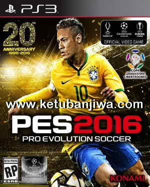 PES 2016 PS3 Patch 1.05 - 1.03.01