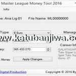 PES 2016 Master League Money Tool v1.0 Fix Update