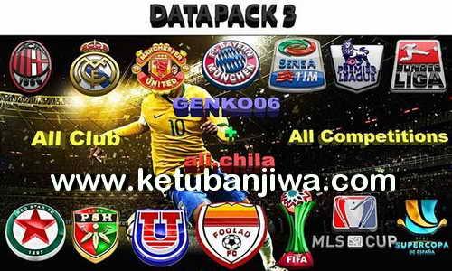 PES 2016 All Clubs 3D HD Logos DLC 3.0 Ketuban Jiwa