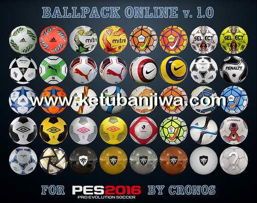 PES 2016 Balls Pack Online v.1.0 by cRoNoS Ketuban Jiwa