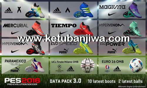 PES 2016 DLC 3.0 Bootpack Extracted by Pes2016screen Ketuban Jiwa