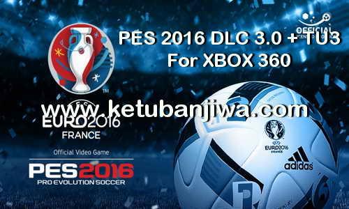 PES 2016 DLC 3.0 + TU3 XBOX 360 Official Data Pack