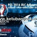 PES 2016 DLC Adboards 2015/16 + EURO 2016 by Glaucio