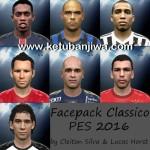 PES 2016 Facepack Classico Volume 1