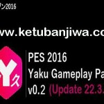 PES 2016 Gameplay Patch v0.2 by Yaku