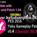 PES 2016 Gameplay Patch v0.4 DLC 3.0 by Yaku