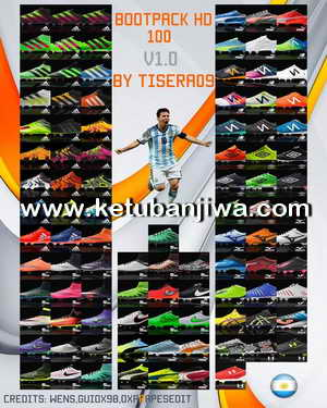 PES 2016 HD Bootpack 100 Boots by Tisera 09 Ketuban Jiwa