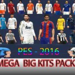 PES 2016 Mega Big Kitpack by DzhonX