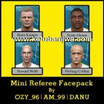 PES 2016 Mini Referee Facepack