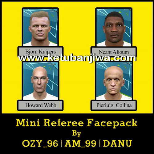 PES 2016 Mini Referee Facepack