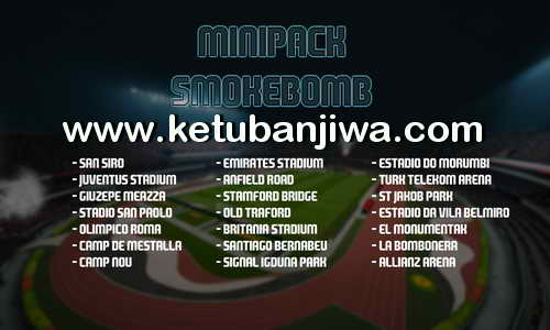 PES 2016 Minipack Smokebomb Stadiums by Ary Januar