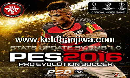 PES 2016 PSD Stats 1.0 For PTE Patch 4.1 by RMB Ketuban Jiwa