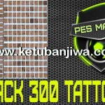 PES 2016 Tattoo Pack 300 by Marcéu