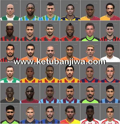 PES 2016 Turkey Süper Lig Mega Facepack by Oğuz Emre Ketuban Jiwa