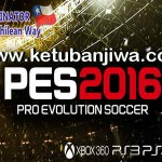 PES 2016 XBOX360 TheChileanWay v6.1 Patch Fix Update