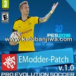 PES 2016 eModder Patch v1.0 AIO Single Link
