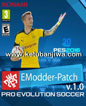 PES 2016 eModder Patch 1.0 AIO Single Link Ketuban Jiwa