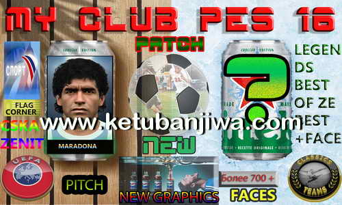 PES 2016 Best Of Ze Best Patch MyClub Online DLC 3.0 by DzhonX Ketuban Jiwa