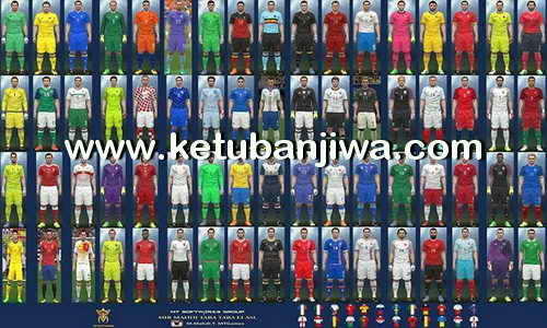 PES 2016 Euro 2016 Kit v5.1 by MT Games 1991 Ketuban Jiwa