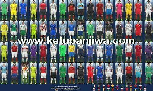 PES 2016 Euro 2016 Kitpack v6 by MT Games 1991 Ketuban Jiwa