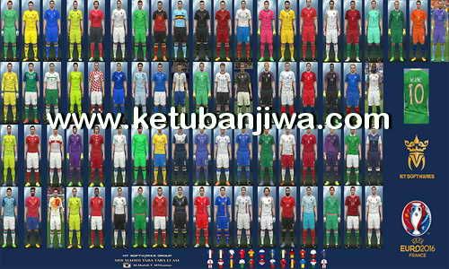 PES 2016 Euro 2016 Kitpack v6.1 by MT Games 1991 Ketuban Jiwa