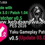 PES 2016 Gameplay Patch v0.5 by Yaku