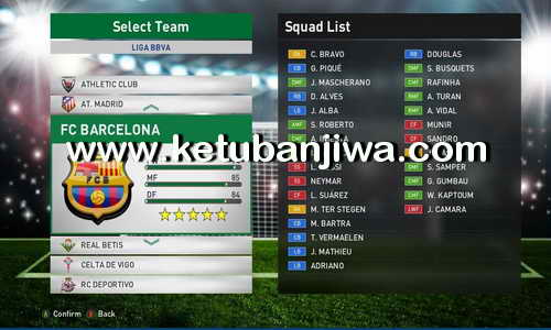 PES 2016 Gold Patch 0.1 Compatible DLC 3.0 Ketuban Jiwa