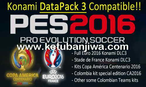 PES 2016 Julian Cames DLC v1.5 Compatible Datapack 3 Ketuban Jiwa